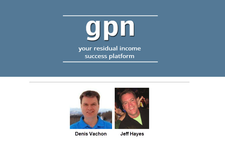 GPN Training with Denis Vachon and Jeff Hayes, July 23, 2019