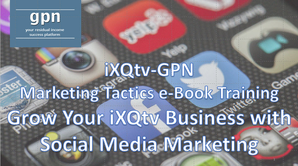 Lifestyle Connections GPN Social Media Marketing Training e-Book