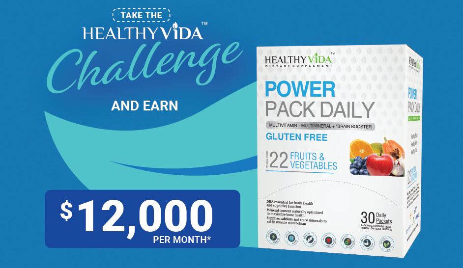 Trunited Healthy Vita Challenge